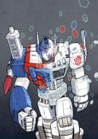Ultra Magnus by slyrage