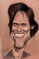 Jim Carrey - Scketch by CarlosRubio
