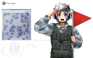 [Program Girl] Minesweeper by Reef1600