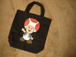 Toad bag by estranged-illusions