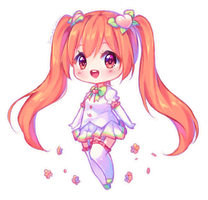 [+Video] Commission - Peach Bloom by Hyanna-Natsu