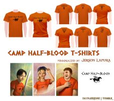 Camp Half-Blood T-Shirts by daynjerzone