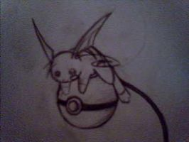 Raichu Tattoo Idea. by Sanity-Challenged