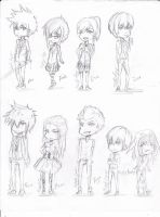 Chibi's everywhere!! by meno625