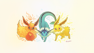 Original Eeveelutions by Felynea