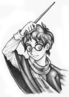 Harry Potter a la Anime by ambientblue