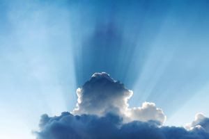 Crepuscular rays by johnchan