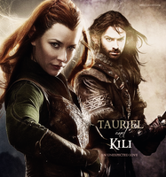 Tauriel and Kili by EmilyEretica