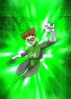She Green Lantern by akenator