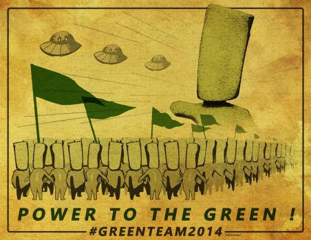 Power to the green! by Octop1
