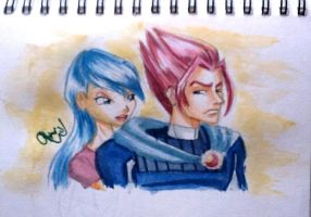 Musa and Riven by ChrisWollf