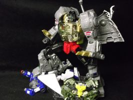 Me Grimlock HATE Decepticons! by forever-at-peace