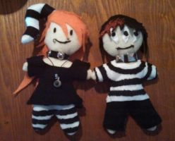 Monsters! Finished! by Xx-Stitches-xX