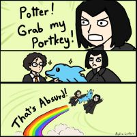 AVPM - GRAB MY MEME POTTER by Hydra-Lantern