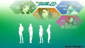 Gundam 00 - Wallpaper by Olrac87
