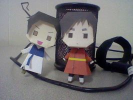 Paper Dolls: HK and SK by Innocently-Creating