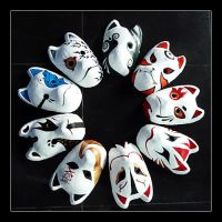 Our group's Anbu mask by klausious