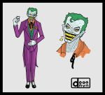 the joker character concept by verstorbene