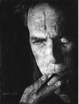 Clint Eastwood by GauravHalbe