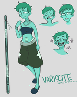 Variscite by jipin