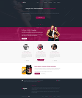 Weights Fitness Webdesign by Rarousek