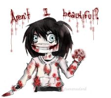 Jeff the killer ::chibi:: by Tsuraradark