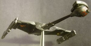 """Klingon """"Deathbird"""" Two by Roguewing"""