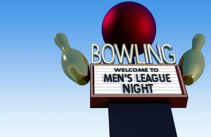 Bowling Sign by porletto