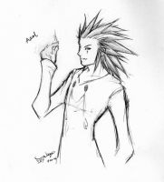 Axel sketch by wings33