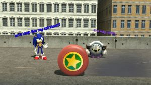Sonic's Spin Dash vs. Wheel Kirby's Rocket Start by SuperKirbyFan1234