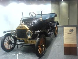 Model-T Ford in Macau by YanamationPictures