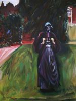 Darth Clementina by HillaryWhiteRabbit