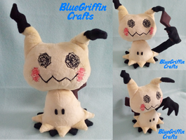 Mimikyu Plush (Pattern Available) by BlueGriffinCrafts