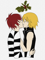 Under the mistletoe by bettinaminamino