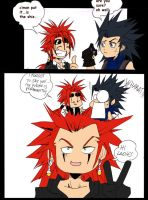 AXEL SOMEBODIES XD by Sandra-delaIglesia