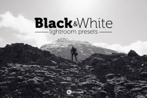 Black And White Lightroom Presets by AzharStdio