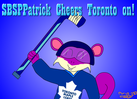 Patrick Cheers Toronto on by Tails230