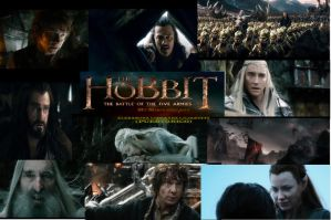 The Hobbit - My Mega Collage - The End by LilianettyPR