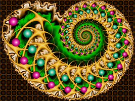 Psychedelic Fossil by fraxialmadness3