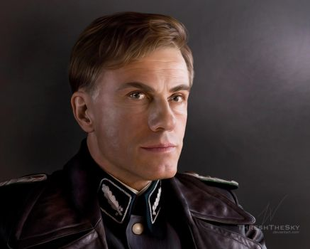 Inglorious Basterds: Hans Landa by ThreshTheSky