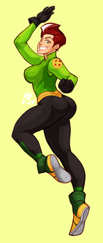 rogue - green by samuraiblack