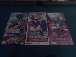 Sonic Game posters by sonicfan40