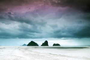 Krabi. Cloudscape by DTokar