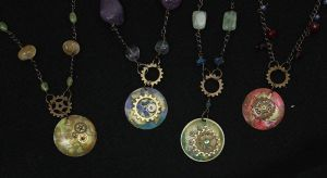 Four necklaces by sillysarasue