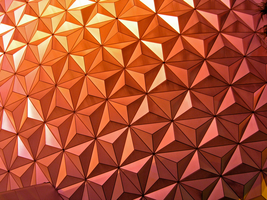 Epcot Spaceship Earth Stock 16 by AreteStock