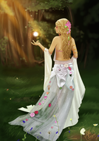 The white lady by Little-Roisin