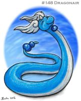 #148 Dragonair by Bafa