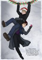 Merry Christmas from 221B Baker Street by HolliGenet