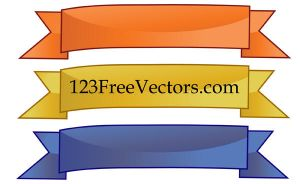 Free Vector Banners by 123freevectors