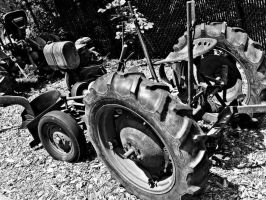 Old Tractor 2 by JeremyC-Photography
